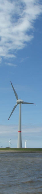 Large Wind Power Turbine -  Generator