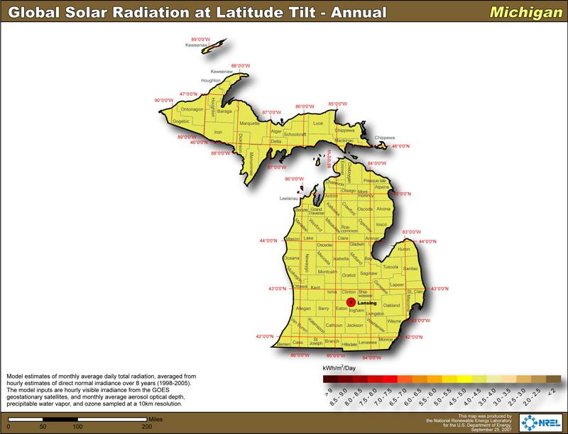 Michigan Solar Power Info