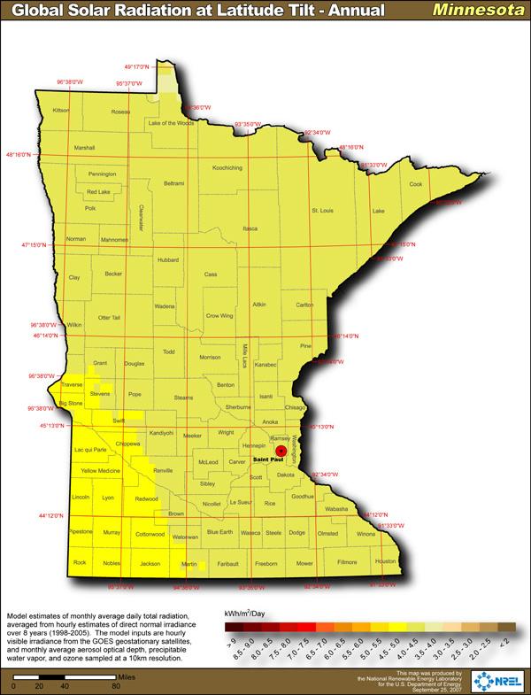 Minnesota Solar Power Info