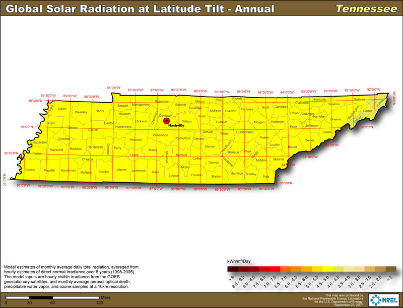 Tennessee Solar Power Info